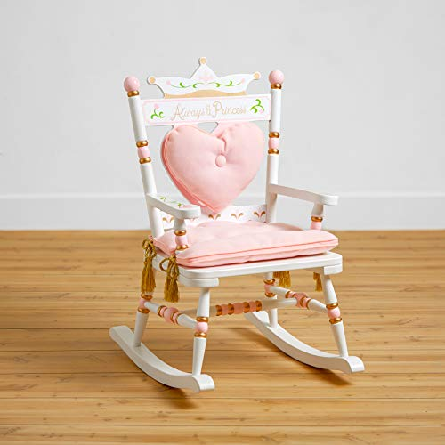 Wildkin Kids Princess Royal Rocking Chair for Boys and Girls, Perfect for Both...