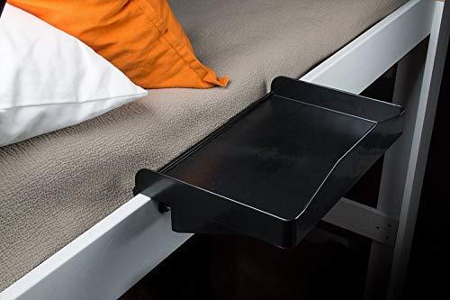 Bunk Buddy Bedside Shelf - Black