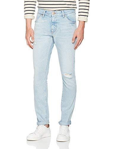 Wrangler Larston Jeans, Blu Salt, 32W / 30L Uomo