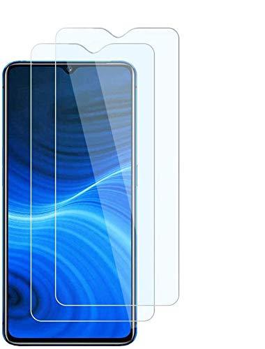 FiiMoo Vetro Temperato Compatibile con Realme X2 PRO【2 Pack】[Durezza 9H] [Case Friendly][Anti-graffio][Senza Bolle], Pellicola Protettiva Protezione Schermo per Realme X2 PRO