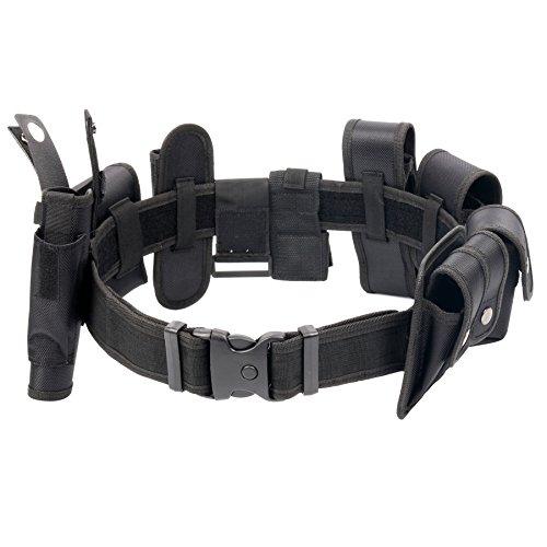 YaeKoo Black Law Enforcement Modular Equipment System Police Security Military Tactical Duty Utility Belt