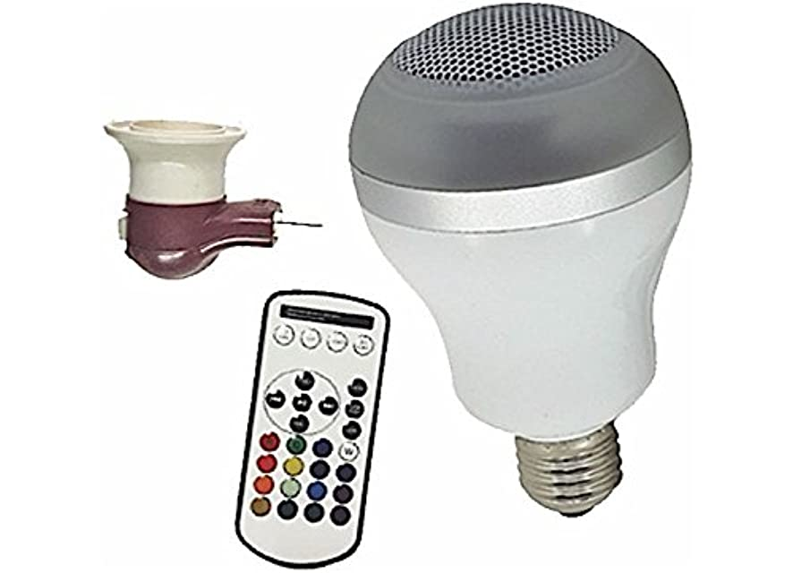 Diamond Group Valterra DG11001 Multi-Color LED Bluetooth Speaker Bulb
