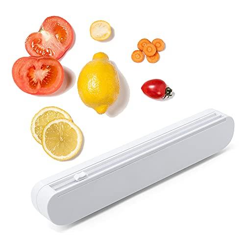Cortador Papel Aluminio,Dispensador Papel Aluminio,Dispensador Película Transparente,Cortador De Película De Alimentos Adecuado Para Cortar Películas,Adecuado Para Film Transparente,Cocina,Restaurante