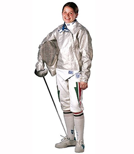 Radical Fencing RF PBT INOX, Washable Electric Fencing Sabre Jacket, Lame, Women's (38