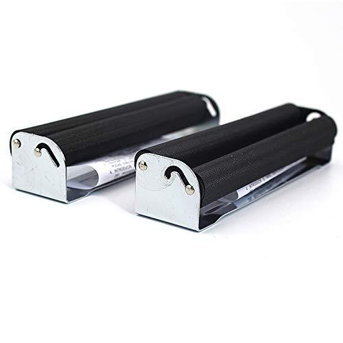 Gurxi Rollmaschine Zigarette Drehmaschine Zigarette Perfekte Zigarette Machine Konische Zigarette Premium Roller Machine Zigarette für die Herstellung von Zigarette Selbst Diy 2 Stück (Schwarz)