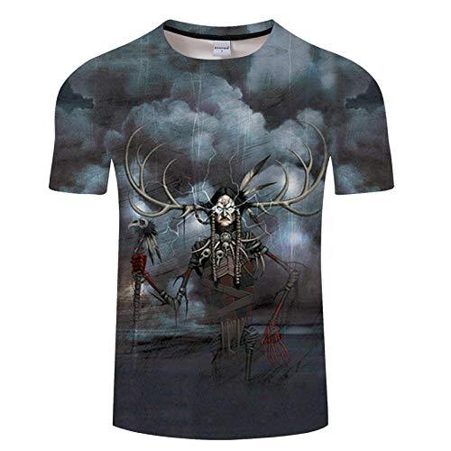 T-Shirt T-Shirt à séchage Rapide Hommes Chemises Fitness Respirant Hauts T-Shirt imprimé 3D été décontracté Asiatique Txkh1339