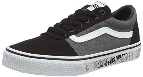 Vans Herren Ward Canvas Sneaker, Mehrfarbig Otw Black White, 35 EU