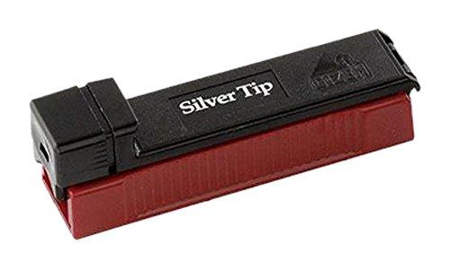 Gizeh Silver Tip Boy-Zigaretten Stopfmaschine Zigarettenstopf Maschine, Kunststoff, schwarz, 8 x 3 x 3 cm