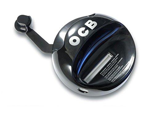 OCB Zigaretten-Hebelstopfer, Metall, Schwarz, M