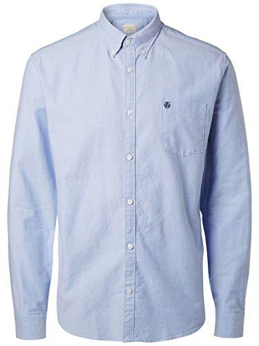SELECTED HOMME Herren Shhcollect Shirt Ls Noos Freizeithemd, Light Blue, XXL EU