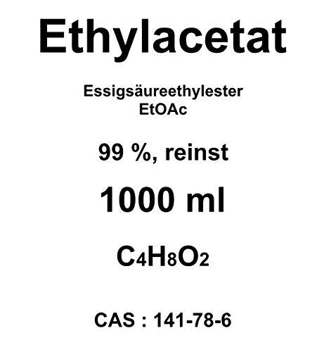 1000ml ethylac bilancio,  99% acetato di etile, per cromatografia, solvente