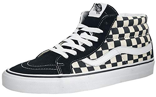 Vans Sk8-Mid Reissue Checkerboard/True White VN0A391FQXH Mens Size 11, Womens 12.5