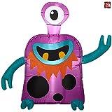 Gemmy 3 1/2 Airblown Inflatable Alien Cyclops Monster Yard Decoration 222203