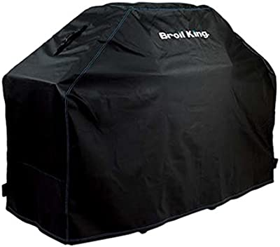 """Broil King 68470 Heavy Duty PVC/Polyester 51"""" Grill Cover,Brown/A"""