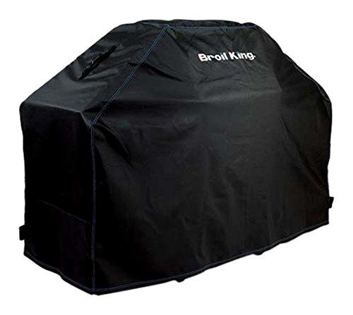 Broil King - 68470 - Accessoires pour grillades / barbecue, Housse Premium / Couronne Baron / Monarch , Argent, 129 x 58 x 117 cm