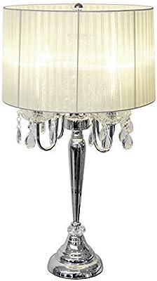 Beaumont 8 lamp Chandelier (Cream): Amazon.co.uk: Lighting
