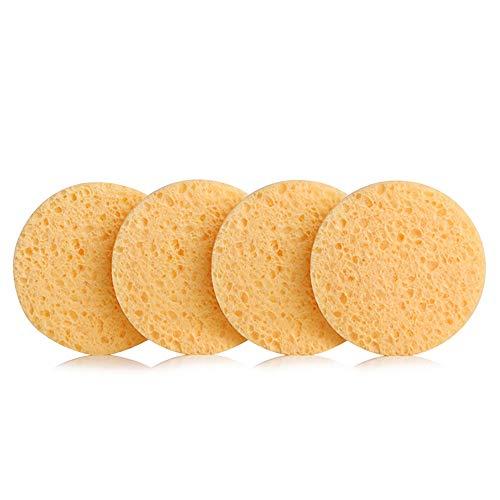 4 Pieces Konjac Facial Sponge Enhanced Exfoliating Face Wash Cleansing Anti...