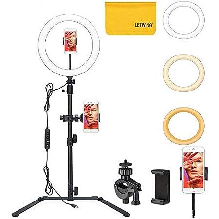 Godox Lr120 12 Led Ringlicht Bi Color Dimmable Kamera
