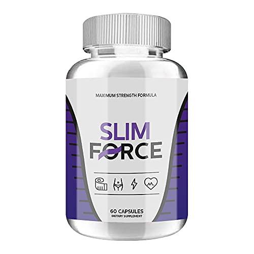 Slim Force Keto - Slim Force Pills - Slim Force Maximum Strength Formula (60 Pills - 1 Month Supply)