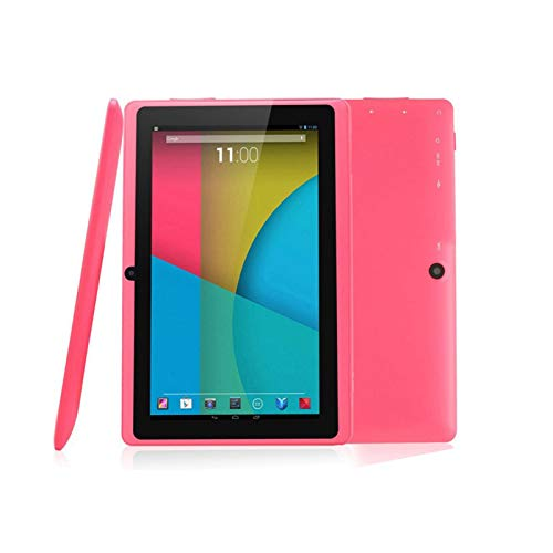 COEMA Tableta para niños de 7 Pulgadas, Controles parentales, Herramientas de Aprendizaje para niños, PC Quad Core Android 4.4 Tableta de Aprendizaje para niños, Tableta WiFi de 8 GB