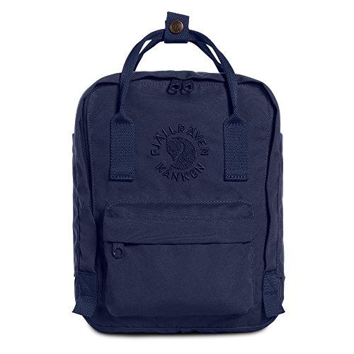 Fjällräven Re-Kånken Mini Kinder Backpack,Blue (Midnight Blue),13 x 20 x 29 cm