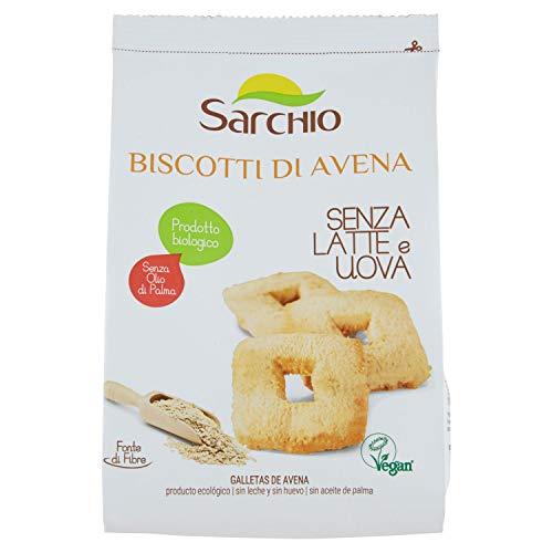 Sarchio Biscotti di Avena - Biologico - 5 confezioni da 250 g