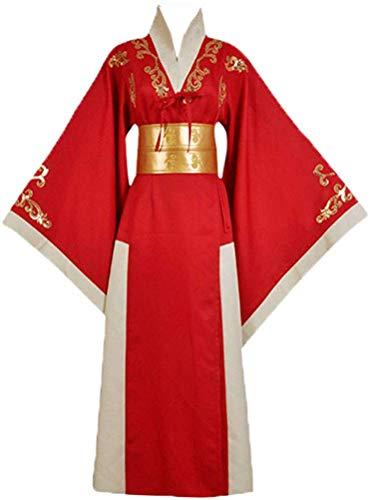 Dahee Queen Cersei Cosplay - Disfraz de Halloween para Mujer, Color Rojo - Rojo - XL