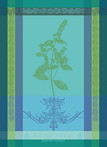 Garnier Thiebaut - Geschirrtuch - Küchentuch - Trockentuch - Menthe 2018 Chlorophylle - Baumwolle - 56 x 77 cm