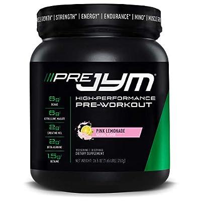 JYM Supplement Science Pre 30 Servings Pink Lemonade, PRE30PL