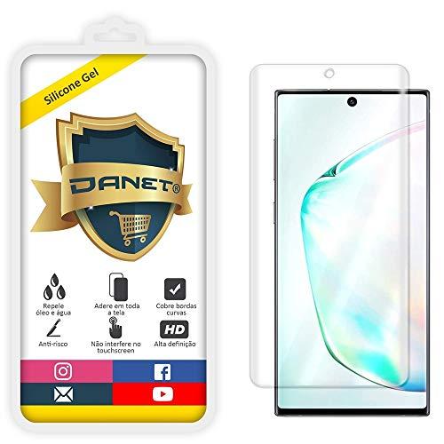 Película de Gel Silicone Flexível Para Samsung Galaxy Note 10 com Tela de 6.3 Polegadas - Proteção Que Adere E Cobre Toda A Tela - Danet