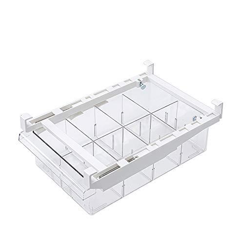 TopHGC Organizadores de frigorífico, cajón de frigorífico para Mascotas, Almacenamiento extraíble para frigorífico, contenedor Transparente Organizador de frigorífico para congelador