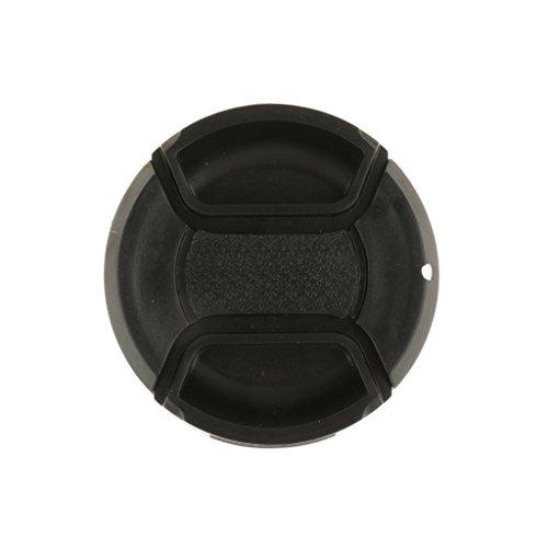 MagiDeal Tapa de Objetivo Trasera Delantera para Canon Nikon Sony Camera Ultra Violet Accesorios - Negro-49mm