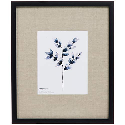 AmazonBasics - Cornice per foto semplice da parete, 36 x 43 cm, per foto da 20 x 25 cm, nero (confezione da 2)
