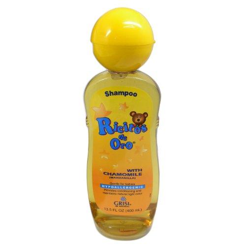 Grisi Ricitos de Oro Hypoallergenic Chamomile(Manzanilla) Shampoo 13.5oz (400 mL)