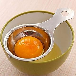QZ Stainless Steel Egg Yolk Separator Protein Egg White Divider Spoon Kitchen Tools