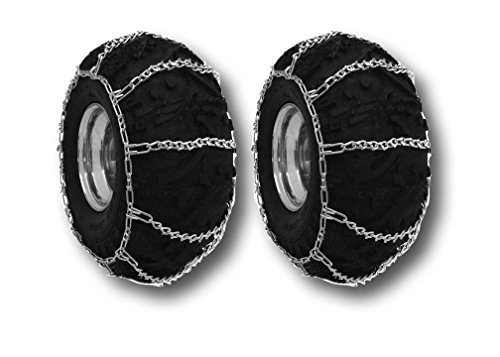 MowerPartsGroup ATV V-Bar Mud/Snow Tire Chains 22x11x10 4-Link Off Road