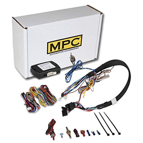 MPC Complete Factory Remote Activated Remote Start Kit for 2010-2019 Chevrolet Cruze - with T-Harness - FlashLink Updater - USA Based Tech Support