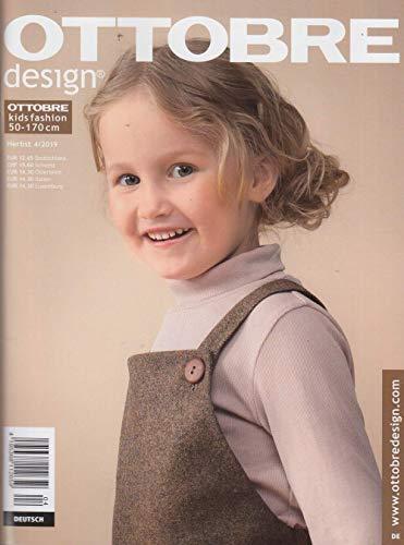 Ottobre design Kids Herbst 4/2019 Nähzeitschrift Hilco Schnittmuster