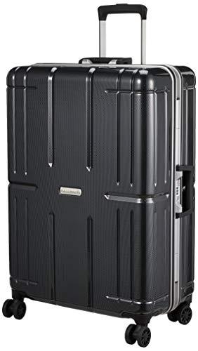 [エー・エル・アイ] スーツケース AliMax2 ハードキャリー 80L 5kg カーボンブラック