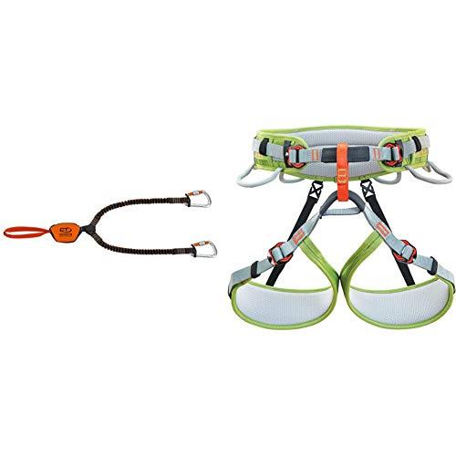 Climbing Technology Classic-K Slider, Set Ferrata Unisex, Adulto, Arancio/Grigio, Taglia Unica &...