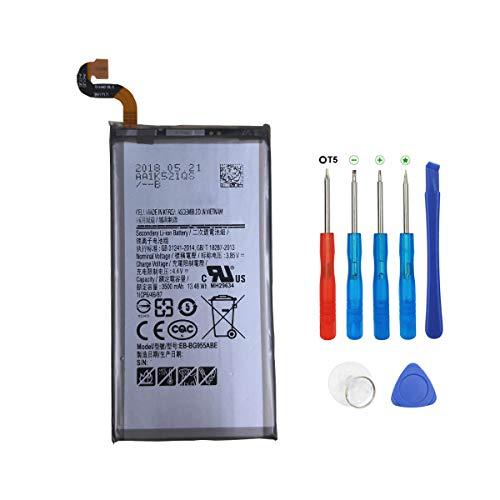 Swark EB-BG955ABE - Batería compatible con Samsung Galaxy S8+ S8 Plus SM-G9550 con herramientas