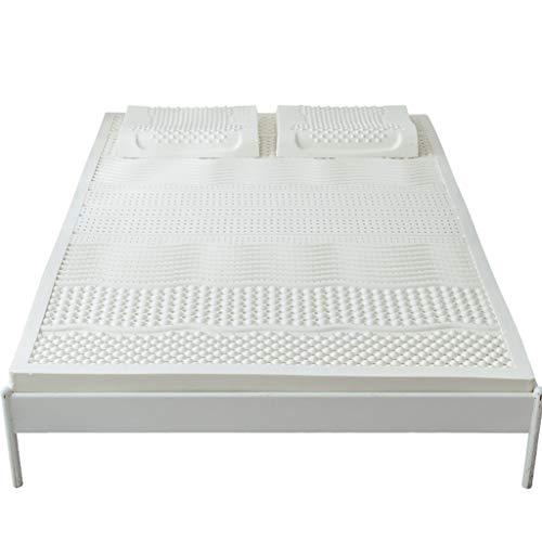 ZZCd Topper 100% Natural Puro del colchón del látex - colc