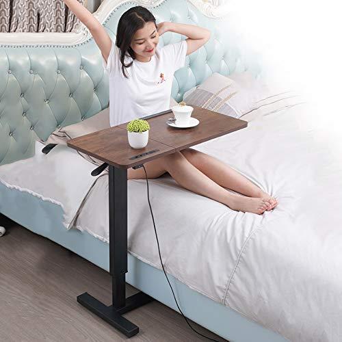 fall Pflegetisch beistelltisch, Medizinische Overbed Tabelle mit USB-Anschluss, Mobile Computer Schreibtisch, for diejenigen, bettlägerig und kann um das Haus verwendet Werden
