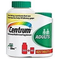 Doaaler(TM) Centrum Adult Multivitamin Tablets 365 Count + Bonus 60 Count - Brand New Item