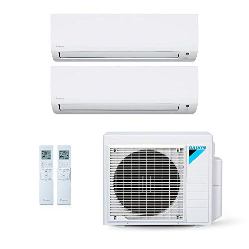 Ar Condicionado Multi Split Daikin Advance Inverter Evaps 9000 + 12000 BTUs + Cond 18000 BTUs Quente/Frio 220V