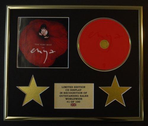 Enya/CD Display/Limited Edition/COA/The Very Best of ENYA