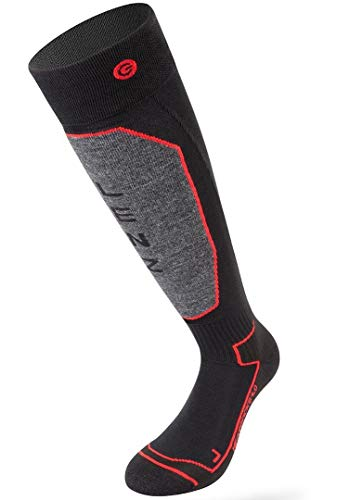 Lenz Set of Heat Socks 1.0 Black, Inklusive Lithium Pack RcB 1200 (EU/US), Size Small, (3-6) 2017 Model,...