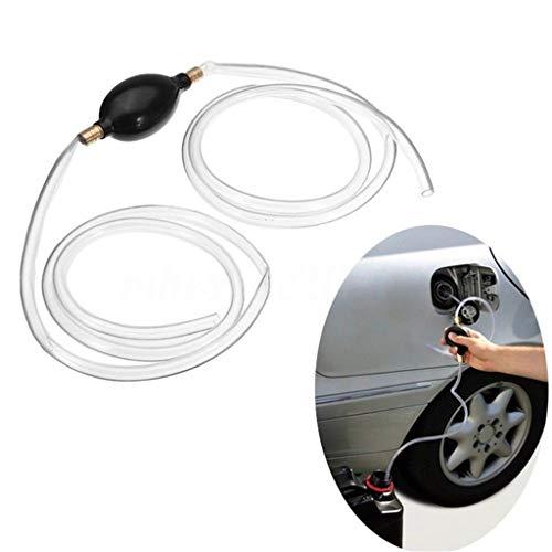 JHKJ Flüssigkeits- / Kraftstofftransfer-Siphonpumpe - Siphon quetschen - Wasser Flüssigkeits-Transferpumpe - Manuelle Siphonpumpe