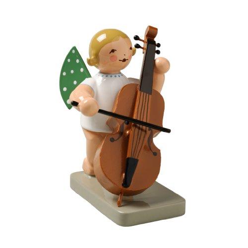 Wendt & Kühn Engel mit Kontrabass Größe 5-6 cm