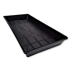 Ultra-Durable, Top-Quality BPA Free Plastic Trays With Holes. Will last you many years Perfect for Soil Blocks or Rockwool Cubes. Propagation tray keeps plug properly drained and aerated Made of heavy duty recyclable Polypropylene PP #5 leach resista...